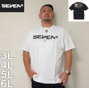 SEVEN2-半袖Tシャツ(メーカー取寄)3L 4L 5L 6L 半袖 Tシャツ アメリカ ストリート 流行り 流行 雑誌掲載 セブンツー