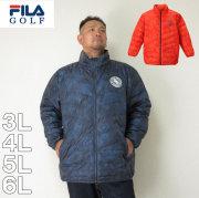 (12/31まで特別送料)FILA-GOLF-ライトダウンジャケット(メーカー取寄)3L 4L 5L 6L ダウン ジャケット フィラ