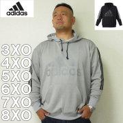 (11/30まで特別送料)adidas-スウェットプルパーカー(メーカー取寄)3XO 4XO 5XO 6XO 7XO 8XO アディダス