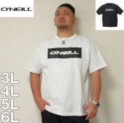 O'NEILL-半袖Tシャツ(メーカー取寄)3L 4L 5L 6L オニール 総柄 半袖 Tシャツ サーフ系