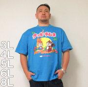 (4/30迄送料値下げ中)企業コラボTシャツ-クッピーラムネ半袖Tシャツ(メーカー取寄)3L 4L 5L 6L 8L 半袖 Tシャツ ラムネ クッピー
