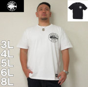 BRONZE AGE-半袖Tシャツ(メーカー取寄)3L 4L 5L 6L 8L アメリカ ストリート系 ブランズエイジ 流行 雑誌掲載