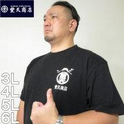 大きいサイズ メンズ 豊天-元祖豊天富士山オマージュ半袖Tシャツ(メーカー取寄)ぶーでん/3L/4L/5L/6L