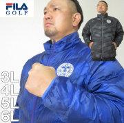 大きいサイズ メンズ FILA GOLF-ライトダウンジャケット(メーカー取寄)フィラゴルフ 3L 4L 5L 6L