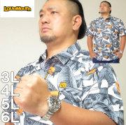大きいサイズ メンズ LOUDMOUTH-プレミアムカノコ半袖シャツ(メーカー取寄) ゴルフウェア ラウドマウス 3L 4L 5L 6L
