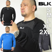 BLK ラグビー モーションニットロングTシャツ(長袖)(メーカー取寄)S M L XL 2XL アンダーウェア 長袖