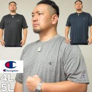 大きいサイズ メンズ Champion(チャンピオン)C VAPOR ドライ Tシャツ 速乾 クール 4L/5L 吸汗速乾 抗菌・防臭