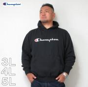 (11/30まで特別送料)Champion(チャンピオン)プルオーバー 横ロゴ HOOD 3L 4L 5L チャンピオン パーカー