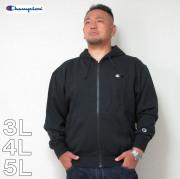 (12/31まで特別送料)Champion(チャンピオン)フルジップ ワンポイント HOOD 3L 4L 5L チャンピオン パーカー