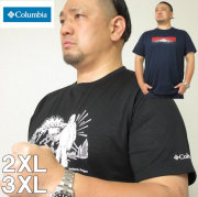 大きいサイズ メンズ Columbia(コロンビア)ムースアベニュー 半袖Tシャツ(当店在庫分) 2XL