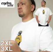 大きいサイズ メンズ EYEDY(アイディ)CHILL ブラックパンサー 半袖Tシャツ(当店在庫分)2XL 3XL