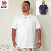 (5/31まで特別送料)FRANKLIN&MARSHALL (フランクリンアンドマーシャル) 無地 半袖 Tシャツ 3XL