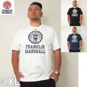 (5/31まで特別送料)FRANKLIN&MARSHALL (フランクリンアンドマーシャル) エンブレム 半袖  Tシャツ 3XL