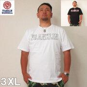 (7/31まで特別送料)FRANKLIN&MARSHALL(フランクリンアンドマーシャル)ロゴ 半袖 コットン Tシャツ 3XL フランクリン