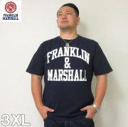 (4/30迄送料値下げ中)FRANKLIN&MARSHALL(フランクリンアンドマーシャル)半袖Tシャツ フランクリン フランクリンマーシャル 半袖 Tシャツ