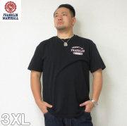 (4/30迄送料値下げ中)FRANKLIN&MARSHALL(フランクリンアンドマーシャル)半袖Tシャツ フランクリン 半袖 Tシャツ 3XL フランクリンマーシャル