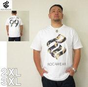 ROCAWEAR(ロカウェア)LOGO IN LIVERTY-半袖Tシャツロカウェア 2XL 3XL 半袖 Tシャツ