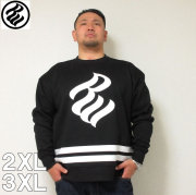 ROCAWEAR(ロカウェア)FLAME LOGO CREW SWEAT