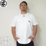(4/30迄送料値下げ中)ROCAWEAR(ロカウェア)R LOGO POCKET-半袖Tシャツ  ロカウェア 半袖 Tシャツ 2XL 3XL 黒 白
