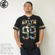 (4/30迄送料値下げ中)ROCAWEAR(ロカウェア)TROPICAL 99-半袖Tシャツ  ロカウェア 半袖 Tシャツ 2XL 3XL 黒 白