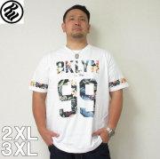 (5/31まで特別送料)ROCAWEAR(ロカウェア)TROPICAL 99-半袖Tシャツ  ロカウェア 半袖 Tシャツ 2XL 3XL 黒 白