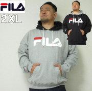 (本州送料無料)大きいサイズ メンズ STAPLE(ステイプル)FILA×STAPLE HOOD デカロゴ フィラ 2XL パーカー