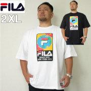 (本州送料無料)大きいサイズ メンズ STAPLE(ステイプル)FILA×STAPLE 半袖Tシャツ ERTH フィラ 2XL Tシャツ