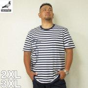 (8/31まで特別送料)STAPLE(ステイプル)PIGEON STRIPE 半袖 Tシャツ 2XL 3XL