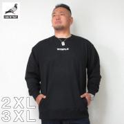 (11/30まで特別送料)STAPLE(ステイプル)フロント ロゴ 刺しゅう スウェットシャツ 2XL 3XL トレーナー ステイプル