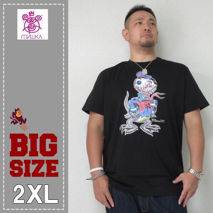 MISHKA(ミシカ)Tシャツ(ダック)BLACK-2XL