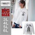 SHELTY-RUDE刺繍長袖Tシャツ(メーカー取寄)