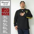 FLAGSTAFF-刺繍+プリント長袖Tシャツ(メーカー取寄)