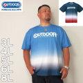 (11/30まで特別送料)OUTDOOR PRODUCTS-DRY メッシュ 半袖 Tシャツ(メーカー取寄)3L 4L 5L 6L 8L ドライ