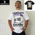 (7/31まで特別送料)b-one-soul-DUCK DUDEナイトシーン半袖Tシャツ(メーカー取寄)3L 4L 5L 6L ビーワンソウル Tシャツ