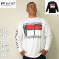 (3/2まで特別送料)H by FIGER-長袖 Tシャツ(メーカー取寄)3L 4L 5L 6L 8L