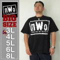 W.W.E-nWoロゴ半袖Tシャツ(メーカー取寄)