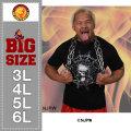 新日本プロレス 真壁刀義「SKULL FIRE SPIDER」半袖Tシャツ(メーカー取寄)