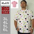 おしゅしだよ-総柄半袖Tシャツ(メーカー取寄)