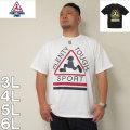 (4/30迄送料値下げ中)PLENTY TOUGH SPORT-半袖Tシャツ(メーカー取寄)プレンティタフスポーツ 3L 4L 5L 6L アメリカ ストリート系 スポーツ