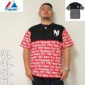 (9/30まで特別送料)Majestic-半袖Tシャツ(メーカー取寄)3L 4L 5L 6L マジェスティック ヤンキース 野球 半袖 Tシャツ スポーツ