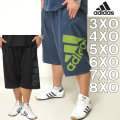 大きいサイズ メンズ adidas-ハーフパンツ(メーカー取寄)アディダス 2L 3L 4L 5L 6L 7L 3XO 4XO 5XO 6XO 7XO 8XO ドライ