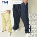 大きいサイズ メンズ ゴルフ FILA GOLF-ストレッチ ツイルパンツ(メーカー取寄)フィラゴルフ 100 110 115 120 130