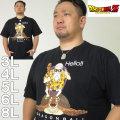 (本州四国九州送料無料)大きいサイズ メンズ DRAGONBALL-カメ&亀仙人 半袖 Tシャツ(メーカー取寄)(ドラゴンボール) /3L/4L/5L/6L/8L