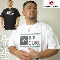 大きいサイズ メンズ RIPCURL-UNDERDRIVE SPACEY半袖Tシャツ(メーカー取寄)(リップカール)/3L/4L/5L/6L サーフ