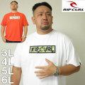 大きいサイズ メンズ RIPCURL-BARBOSA BOX半袖Tシャツ(メーカー取寄)RIP CURL(リップカール)/3L/4L/5L/6L サーフ