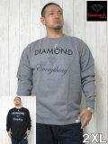 (大きいサイズ)DIAMOND(ダイアモンド)「EVERYTHING-S」スウェットシャツ