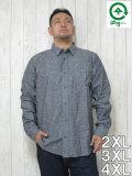 (大きいサイズ メンズ 通販 デビルーズ)LRG(エルアールジー)「SPLATTER」長袖シャツ