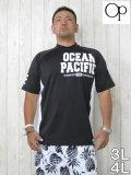 (大きいサイズ メンズ 通販 デビルーズ)OCEAN PACIFIC(オーシャンパシフィック)「1972」半袖ラッシュガード