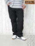 (大きいサイズ メンズ 通販 デビルーズ)ROVER TRY(ローバートライ)カツラギストレッチ 合皮ZIPストレートパンツ
