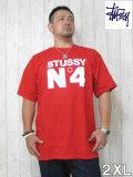 (大きいサイズ メンズ 通販 デビルーズ)STUSSY(ステューシー)「N−4」TEE